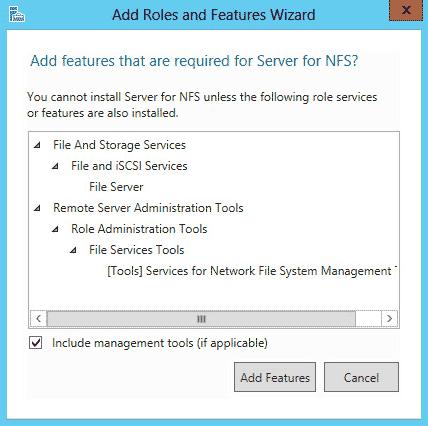 Configuring an NFS Server on Windows Server 2012 R2 - Serverlab