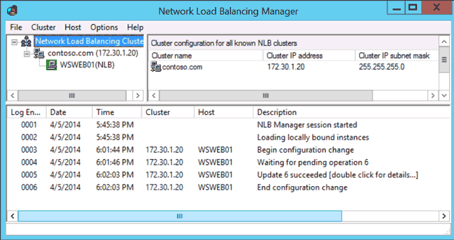 Windows Server 2012 NLB