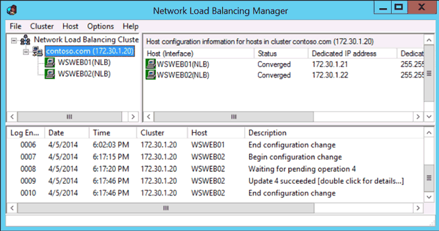 Windows Server 2012 NLB Cluster