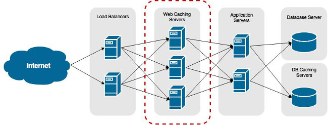 Web infrastructure: Squid caching servers