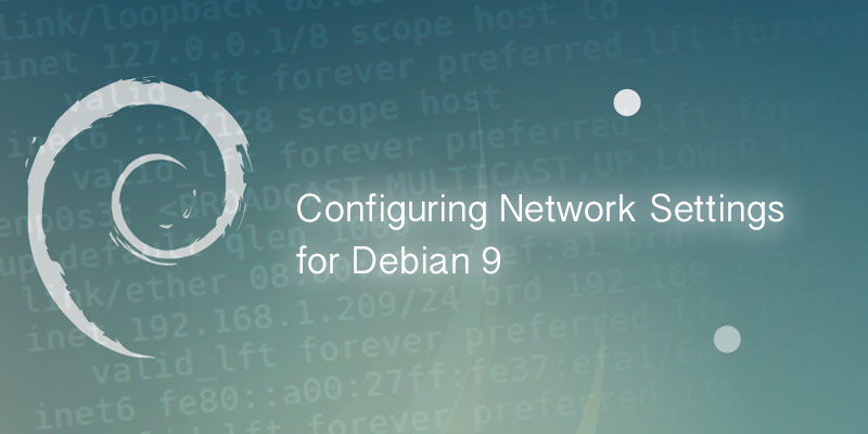 Debian 9 network settings