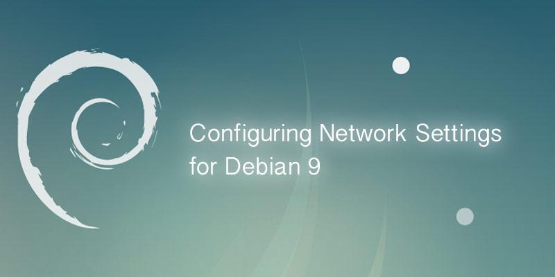 Debian 9 network settings